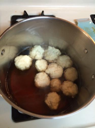 chickenless dumplings