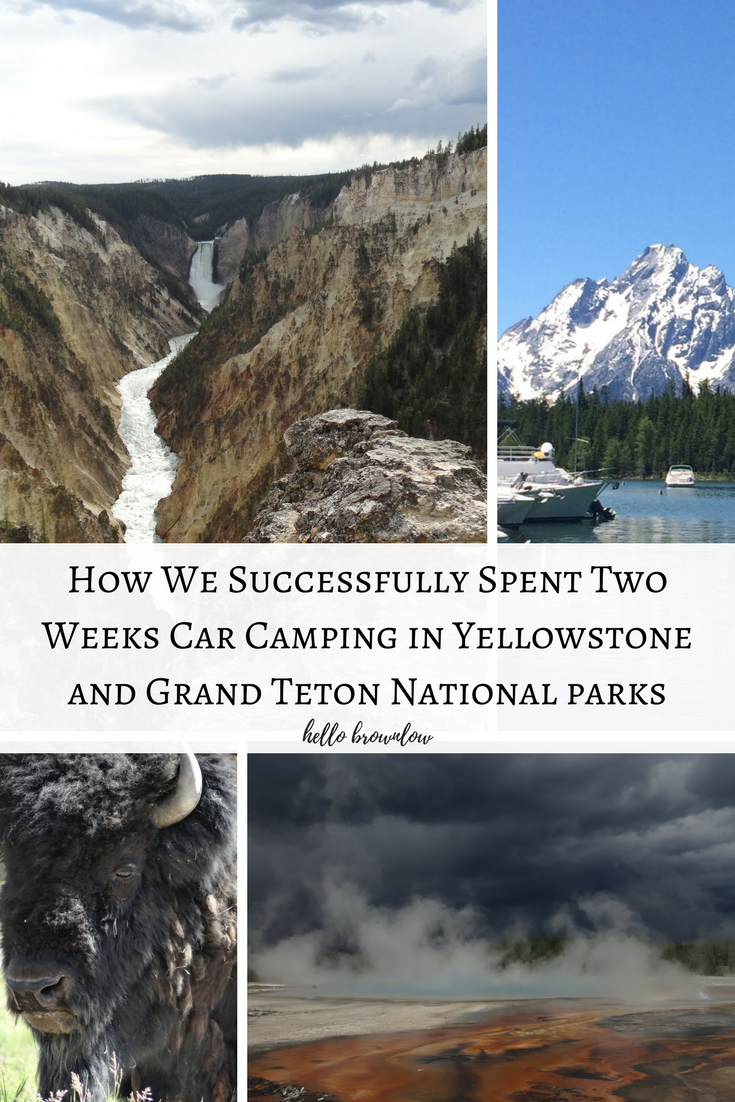 Preparing for Two Weeks of Car Camping in Yellowstone and Grand Tetons National Parks(1)