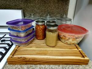 life hacks to be more frugal - meal prep